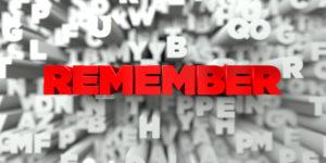 helping blog readers remember