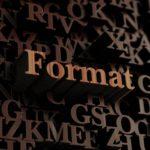 blog formats